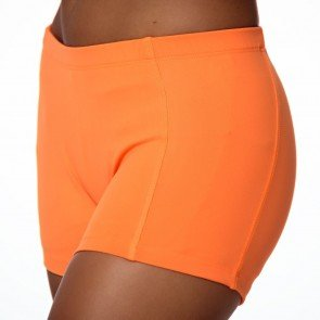 CrazyPants Neon Orange Shorts