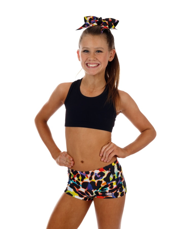CrazyPants Colorful Cheetah Shorts