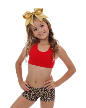 CrazyPants Cheetah Brown Shorts