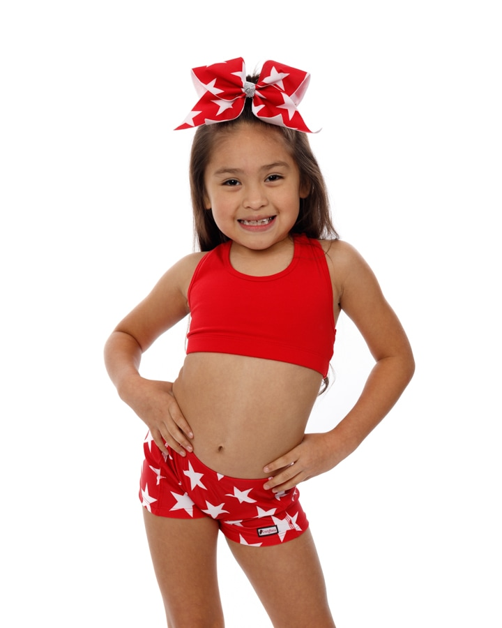 CrazyPants Stars Red Shorts