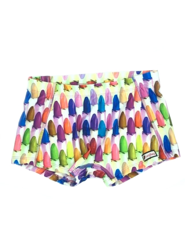 CrazyPants Lipstick Shorts