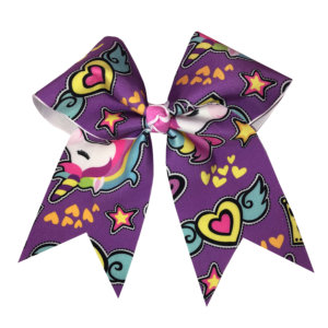 CrazyPants - Purple Unicorn Bow