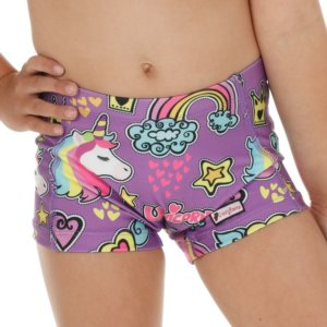 CrazyPants - Purple Unicorn Shorts