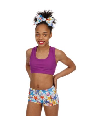 CrazyPants Sparkle Star Fish Shorts