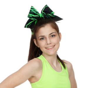 CrazyPants Green Lightening Bow