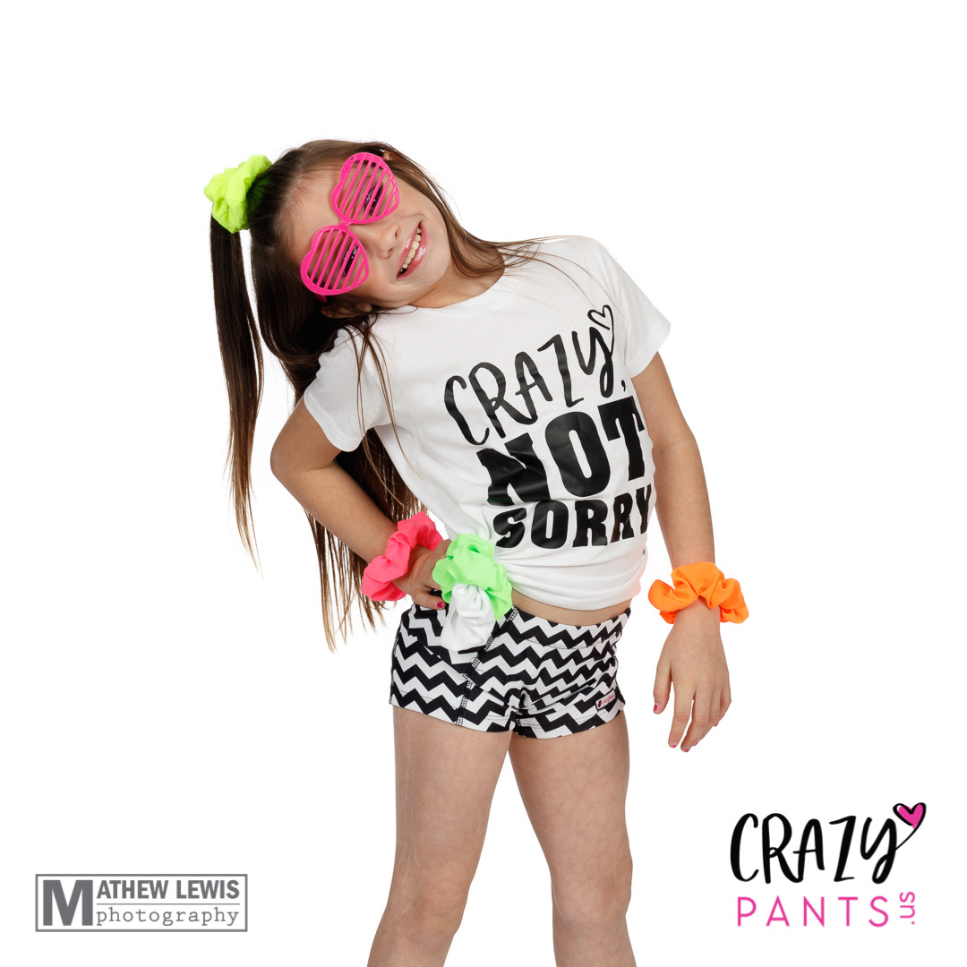 CrazyPants Crazy Not Sorry T-Shirt